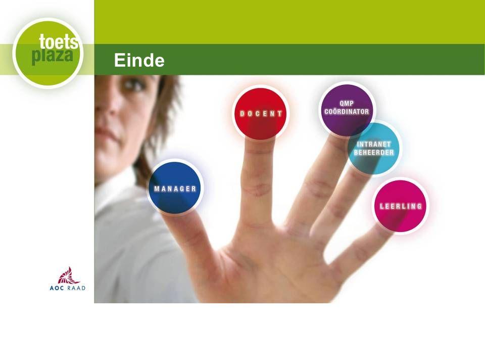 Expertiseteam Toetsenbank Einde