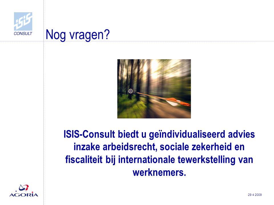 29 4 2009 Nog vragen.