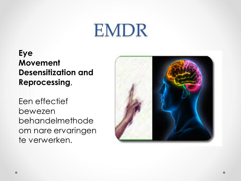 EMDR Eye Movement Desensitization and Reprocessing, Een effectief bewezen behandelmethode om nare ervaringen te verwerken.