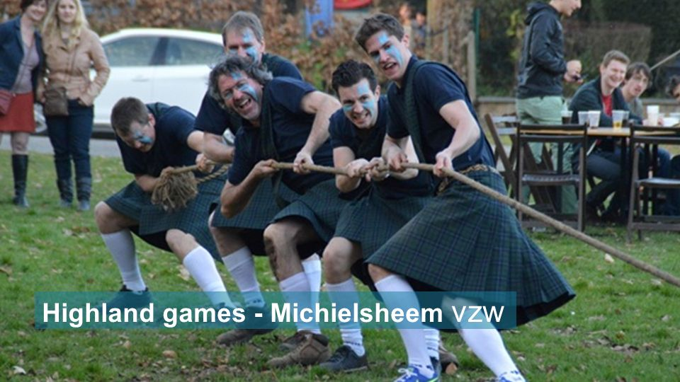 Highland games - Michielsheem vzw