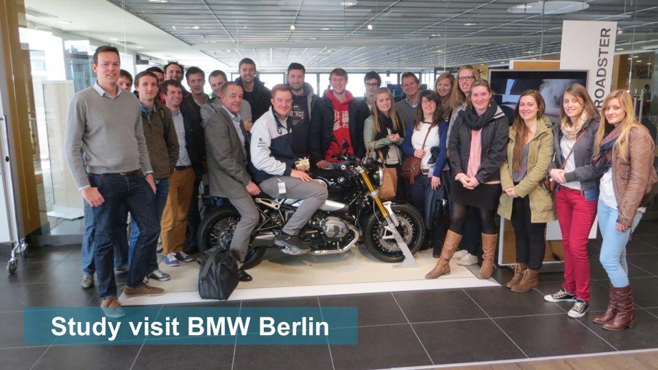 Study visit BMW Berlin