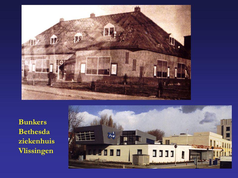 Bunkers Bethesda ziekenhuis Vlissingen