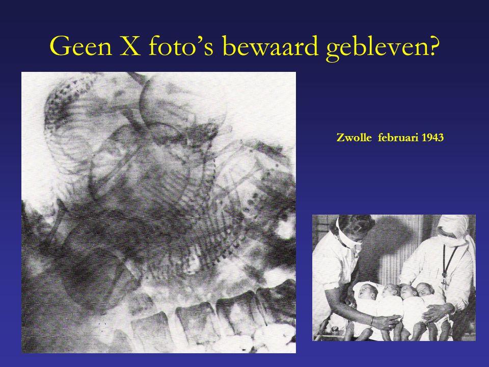 Geen X foto's bewaard gebleven Zwolle februari 1943