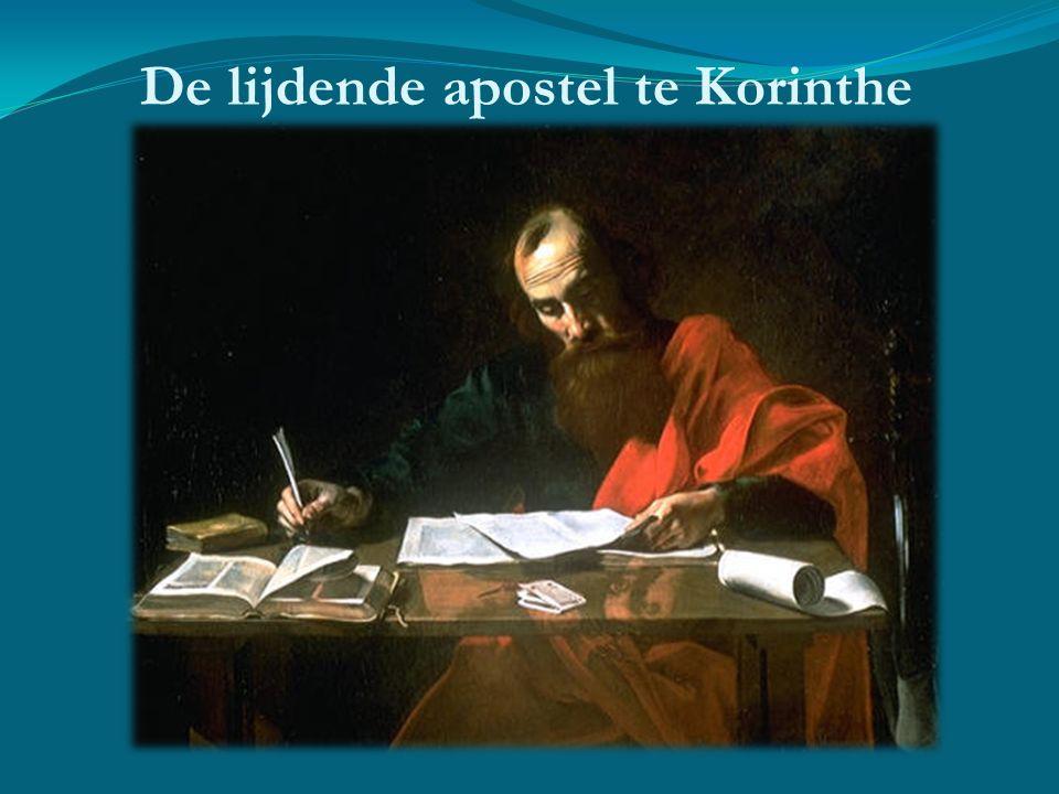 De lijdende apostel te Korinthe