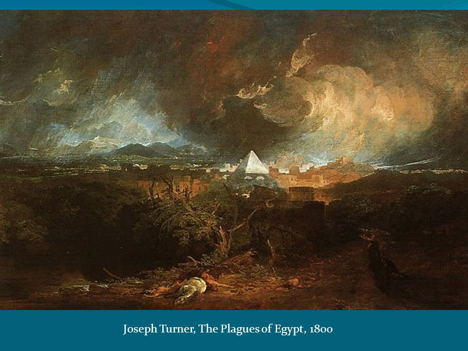 Joseph Turner, The Plagues of Egypt, 1800