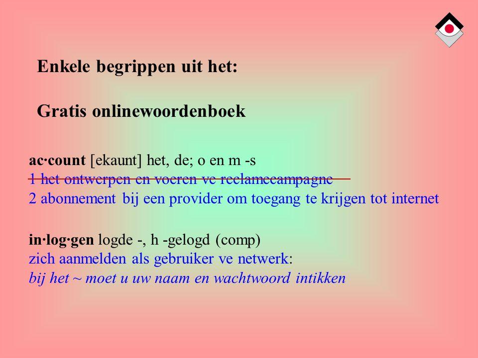 in·log·gen logde -, h -gelogd (comp) zich aanmelden als gebruiker ve netwerk: bij het ~ moet u uw naam en wachtwoord intikken Enkele begrippen uit het