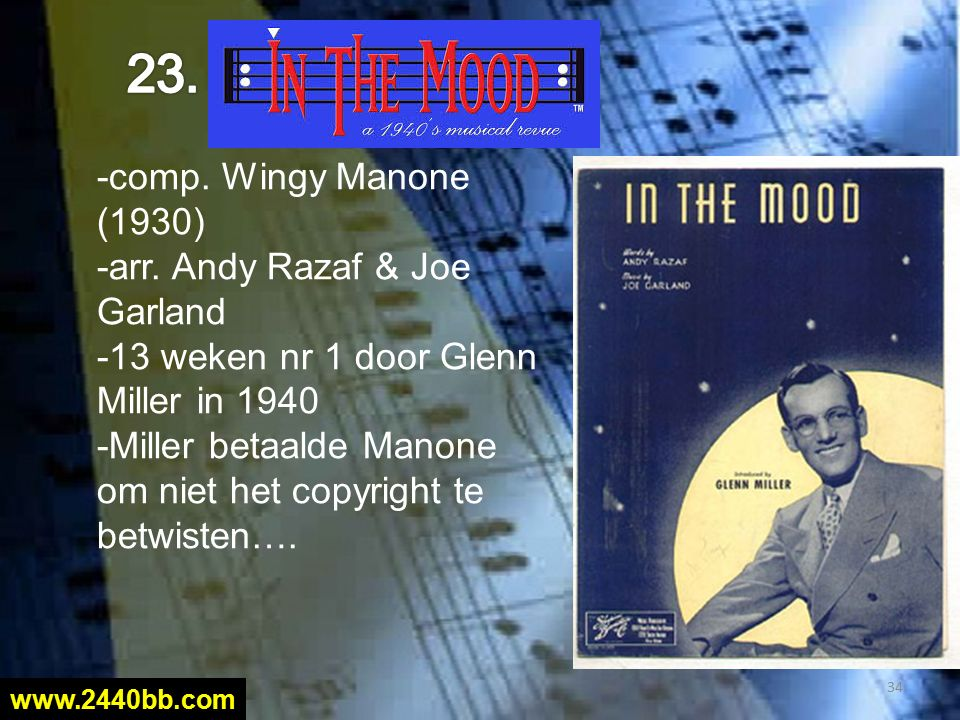 -comp. Wingy Manone (1930) -arr.