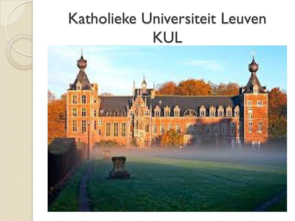 Katholieke Universiteit Leuven KUL