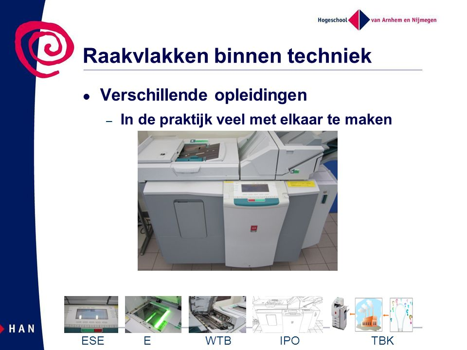 Industrieel Product Ontwerpen ESE E WTB IPO TBK