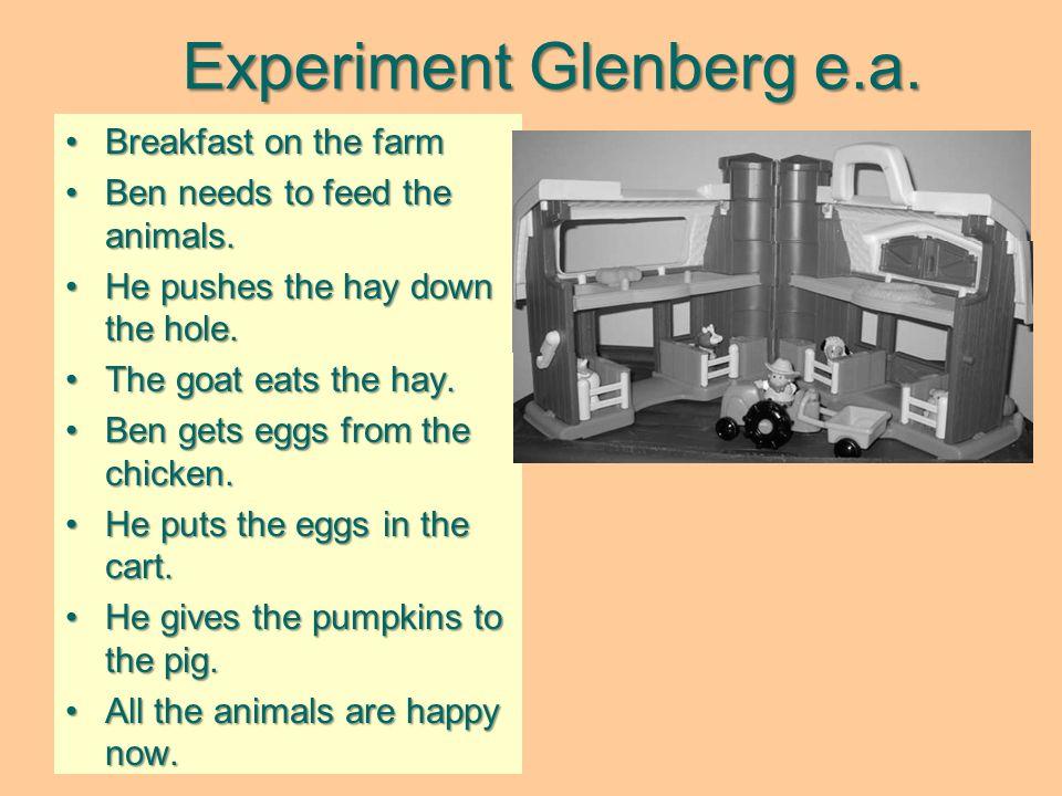 Experiment Glenberg e.a.