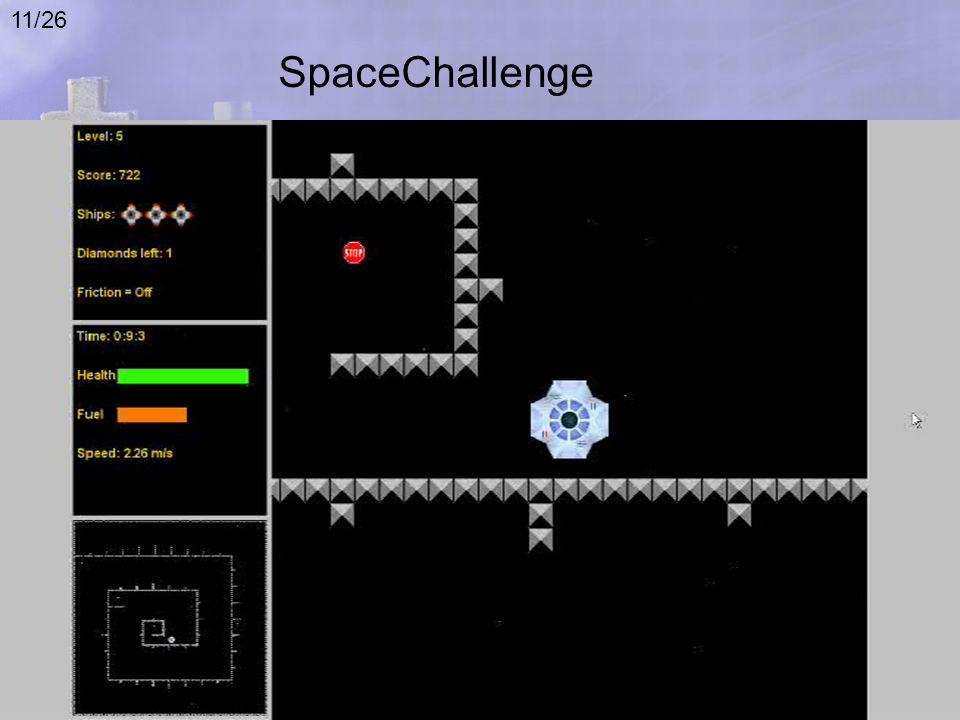 SpaceChallenge 11/26