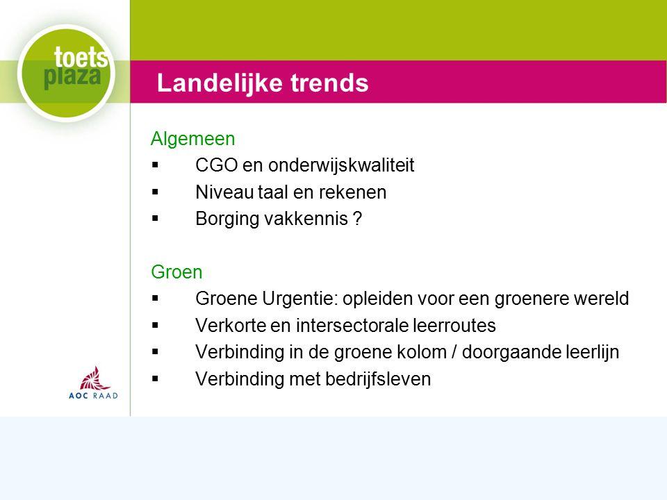 Expertiseteam Toetsenbank Wetgeving  Nieuw examenprogramma's LNO en Landbouwbreed  Referentieniveaus taal en rekenen Onderwijsinspectie  Kwaliteit schoolexamens .