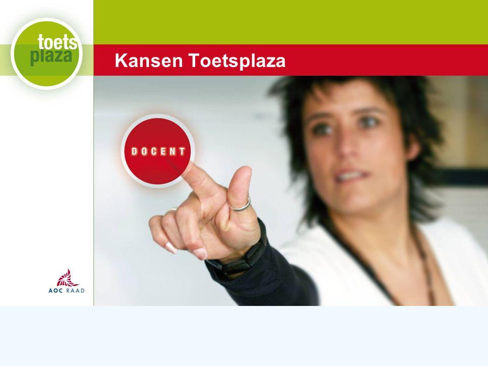 Expertiseteam Toetsenbank Kansen Toetsplaza