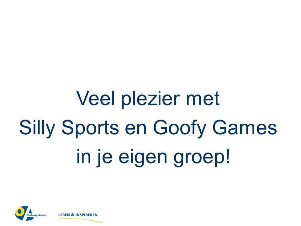 Veel plezier met Silly Sports en Goofy Games in je eigen groep!