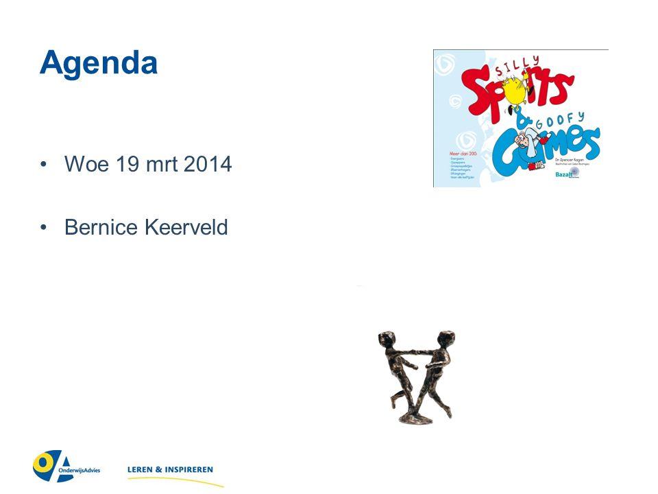 Agenda Woe 19 mrt 2014 Bernice Keerveld