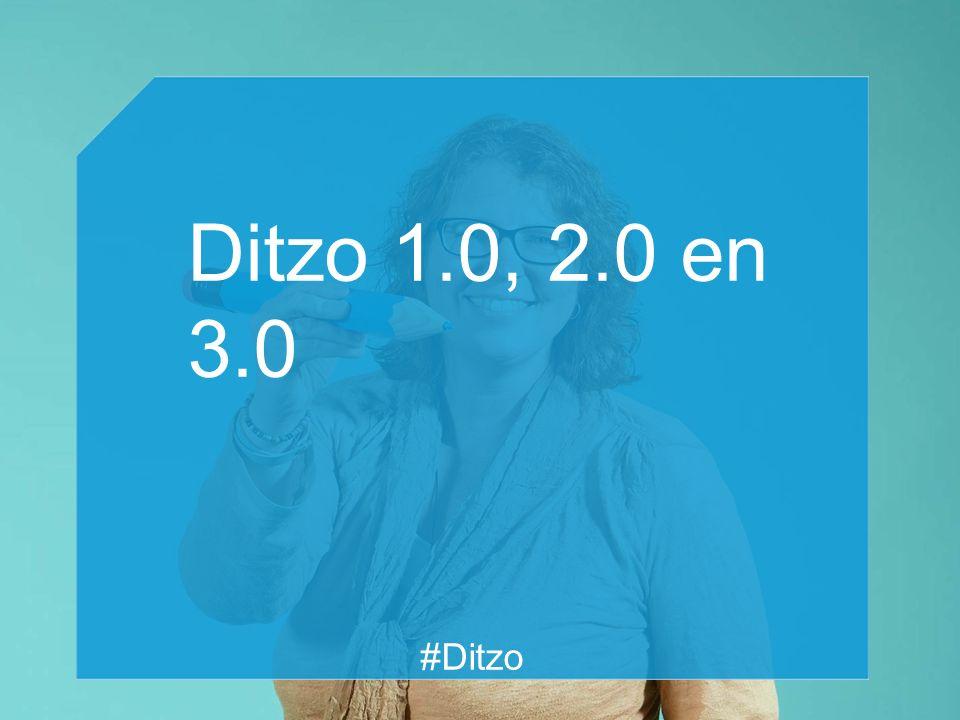 Ditzo 1.0, 2.0 en 3.0 #Ditzo