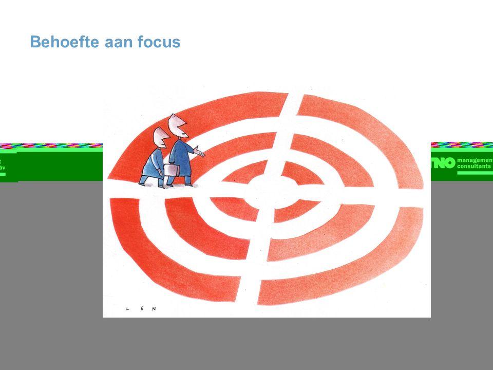 Behoefte aan focus