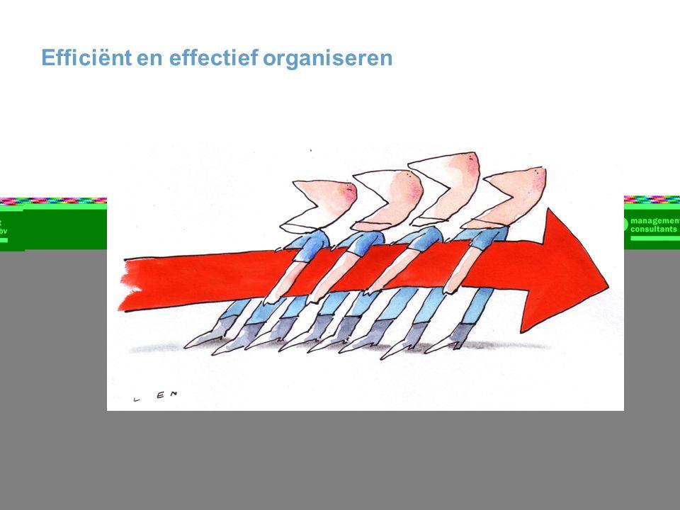 Efficiënt en effectief organiseren
