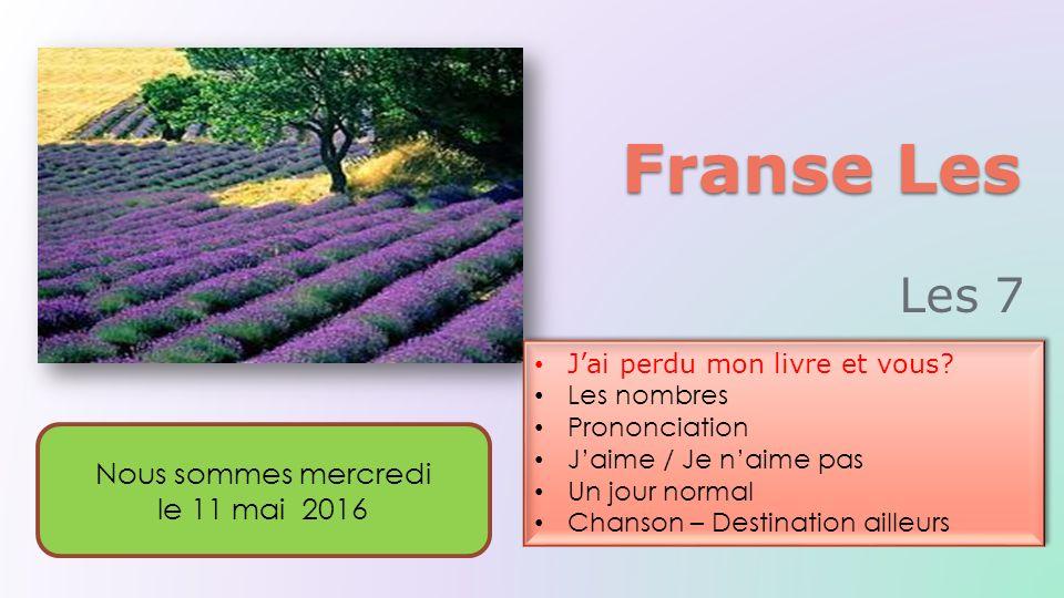 Franse Les J'ai perdu mon livre et vous.