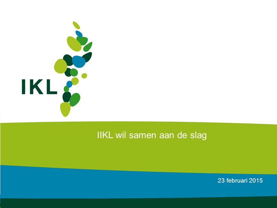 23 februari 2015 IIKL wil samen aan de slag