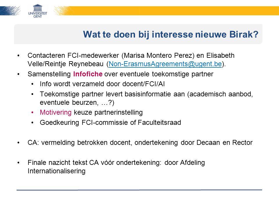 Wat zijn de voordelen van een BIRAK.=> Voordelen Cooperation Agreement voor de student.