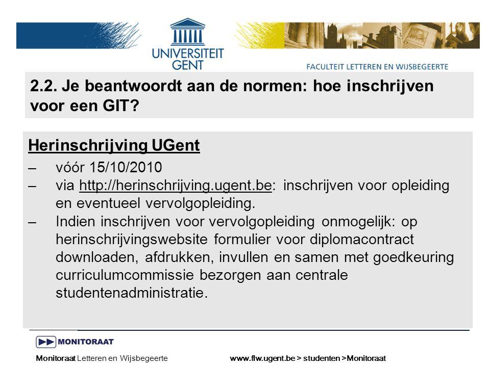Naam presentatie – Naam maker en/of presentator - 12/09/2005 Faculteit Naam Faculteit – Dienst of Vakgroep (optioneel) 2.2.