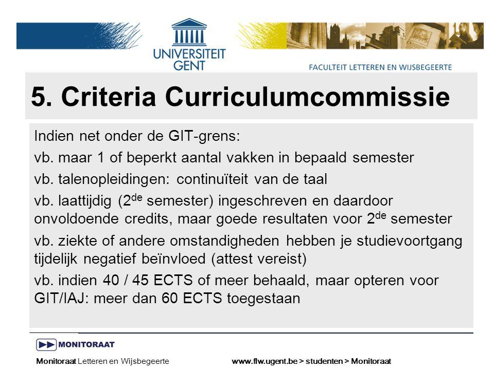 Naam presentatie – Naam maker en/of presentator - 12/09/2005 Faculteit Naam Faculteit – Dienst of Vakgroep (optioneel) 5.