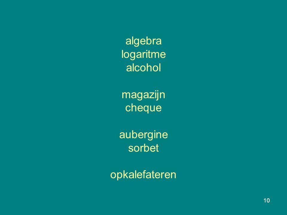 10 algebra logaritme alcohol magazijn cheque aubergine sorbet opkalefateren