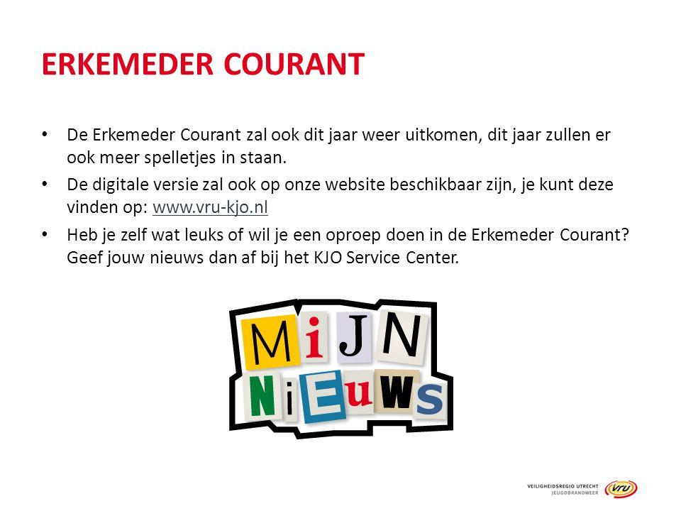 ERKEMEDER COURANT De Erkemeder Courant zal ook dit jaar weer uitkomen, dit jaar zullen er ook meer spelletjes in staan.