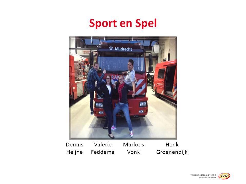 Sport en Spel Dennis Heijne Valerie Feddema Marlous Vonk Henk Groenendijk