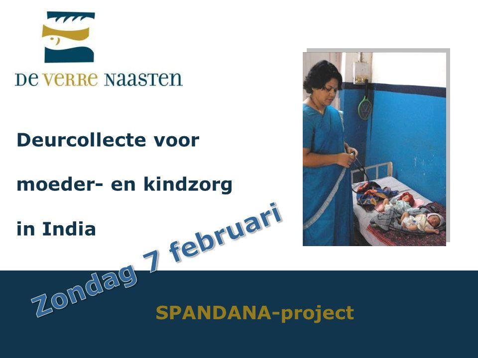 Deurcollecte voor moeder- en kindzorg in India SPANDANA-project