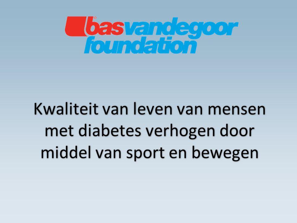 Kwaliteit van leven van mensen met diabetes verhogen door middel van sport en bewegen