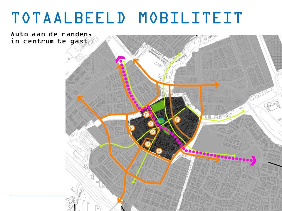 TOTAALBEELD MOBILITEIT Auto aan de randen, in centrum te gast
