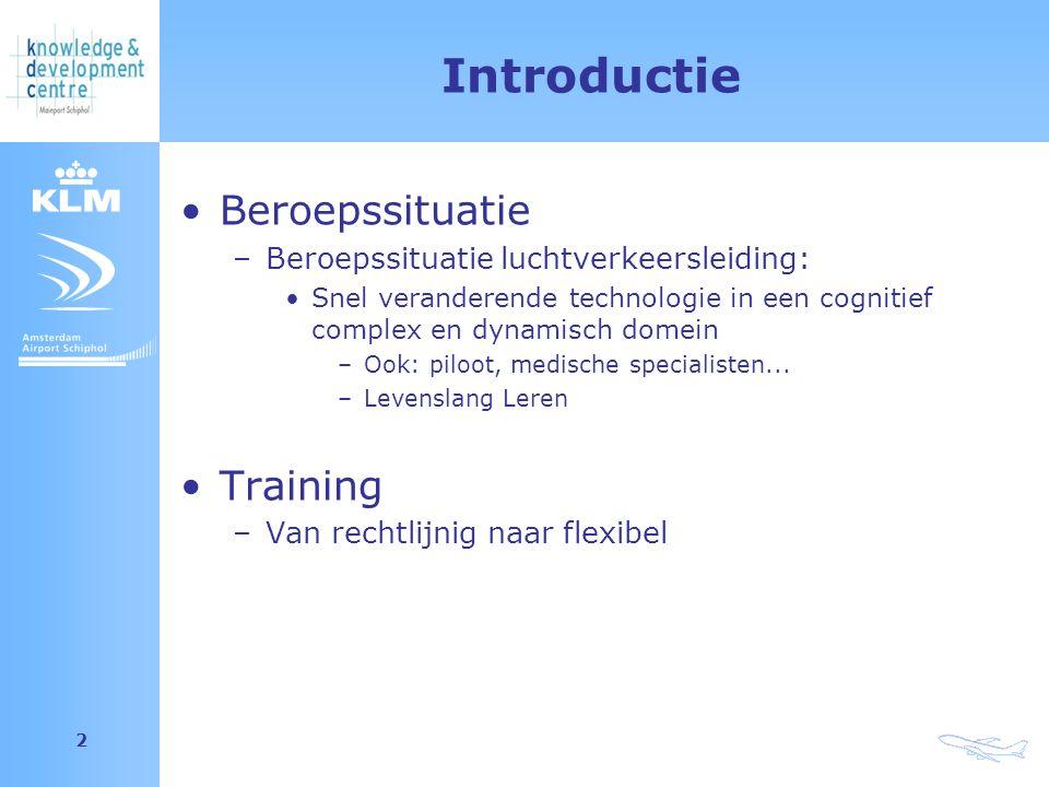 Amsterdam Airport Schiphol 23 Conclusie Adaptieve trainingsystemen verwachten LLL vaardigheden van de trainees LLL vaardigheden ondersteunen het leerproces en zijn wenselijk in de professie Alleen met een juiste configuratie van een trainingsysteem kunnen LLL vaardigheden worden getraind