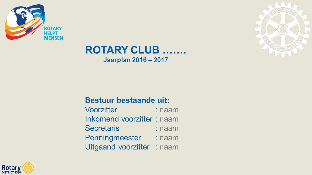 ROTARY CLUB …….