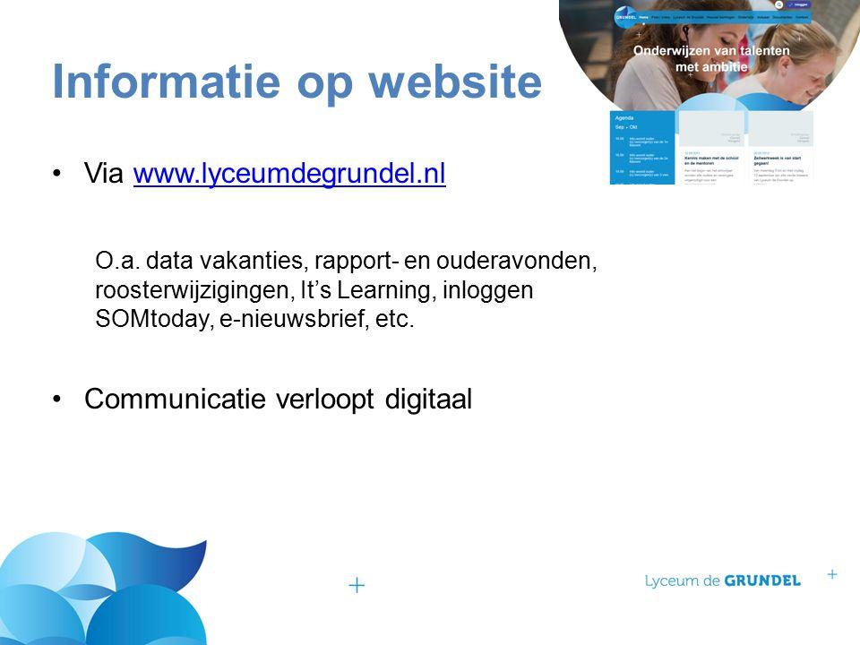 Via www.lyceumdegrundel.nlwww.lyceumdegrundel.nl O.a.