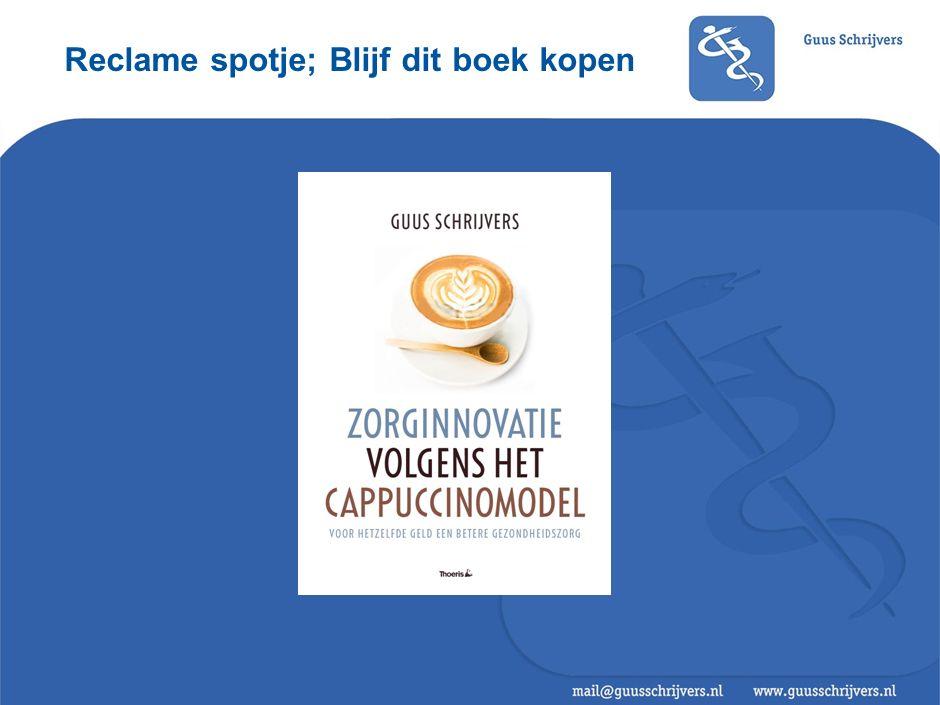 Reclame spotje; Blijf dit boek kopen