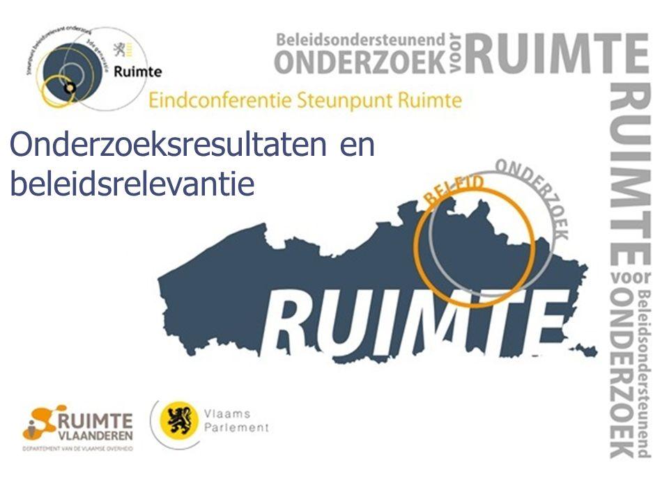 Vlaams Parlement, Brussel 10 december 2015 Onderzoeksresultaten en beleidsrelevantie