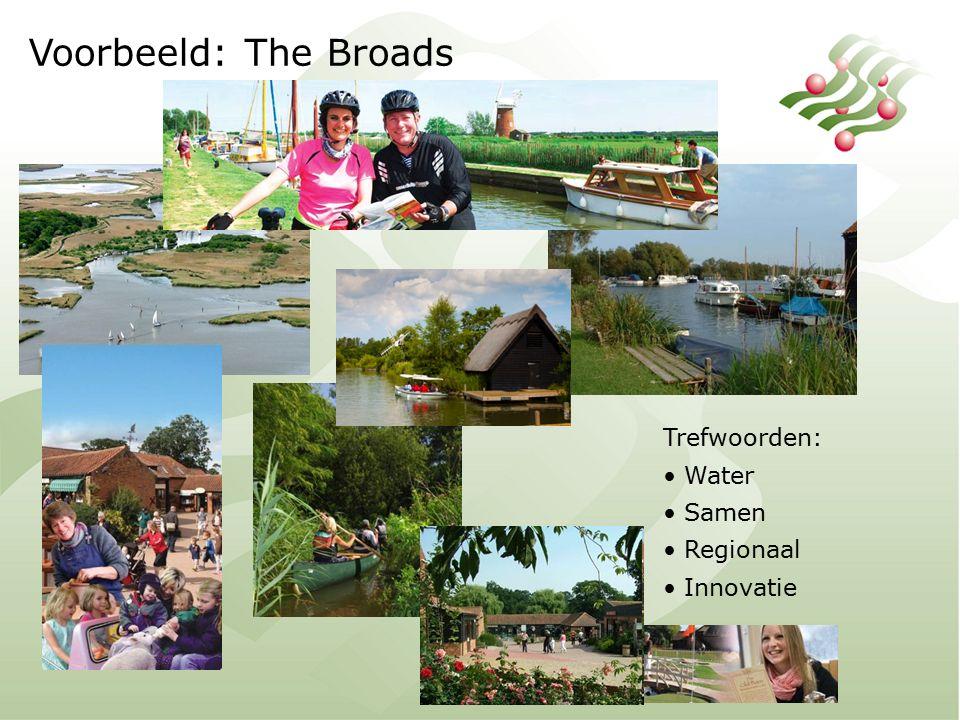 Voorbeeld: The Broads Trefwoorden: Water Samen Regionaal Innovatie