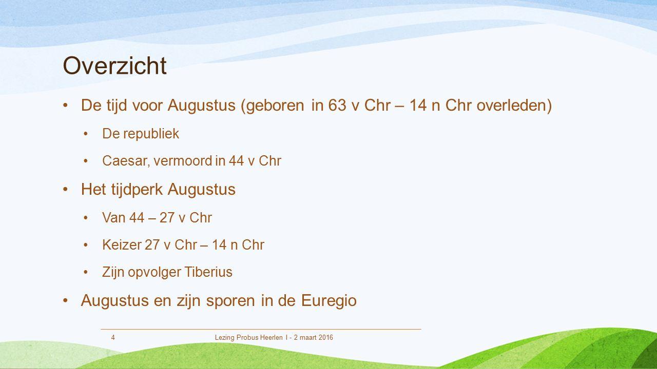 De tijd voor Augustus 500 tot 44 v Chr