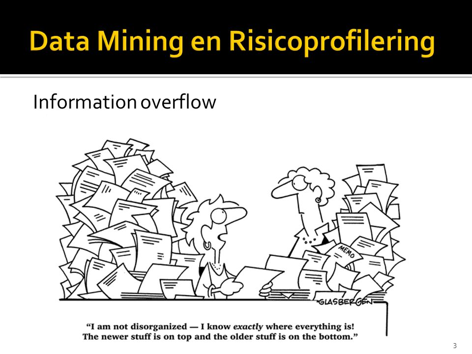 3 Information overflow