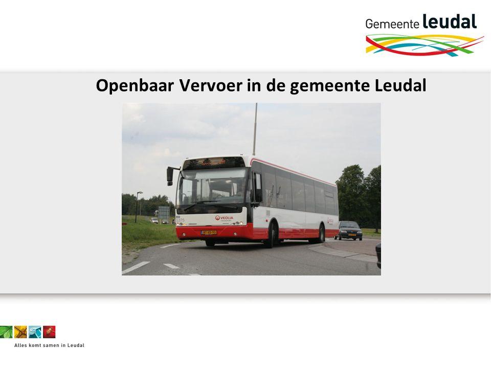 Openbaar Vervoer in de gemeente Leudal