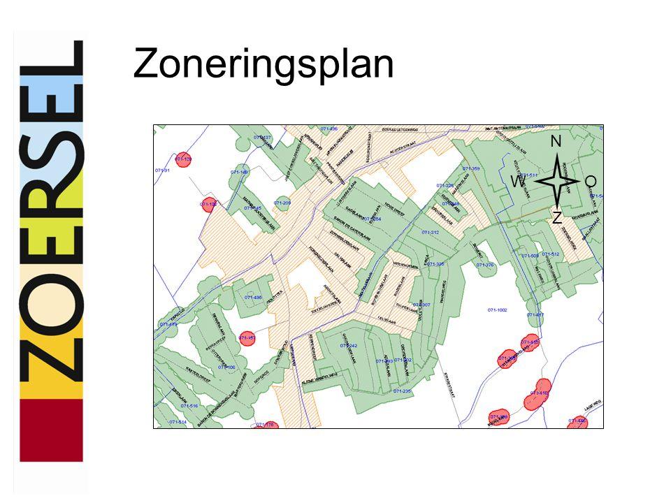 Centraal gebied N WO Z 2 de fase 3 de fase 1 ste fase Collector Achterstraat Collector Liersebaan