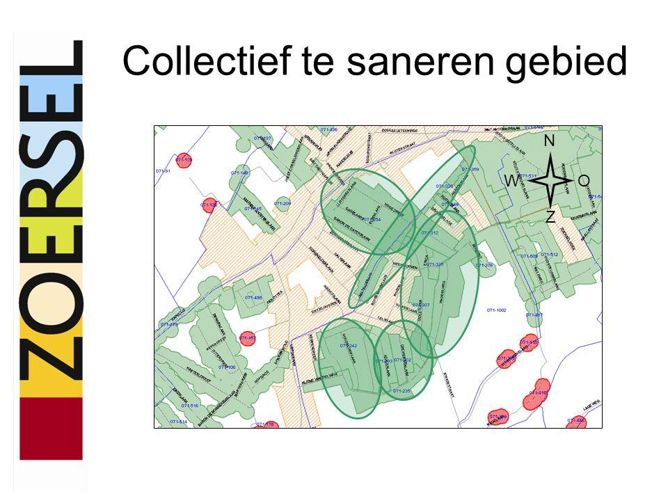 Collectief te saneren gebied N WO Z