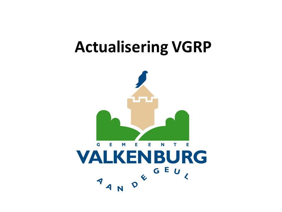 Actualisering VGRP