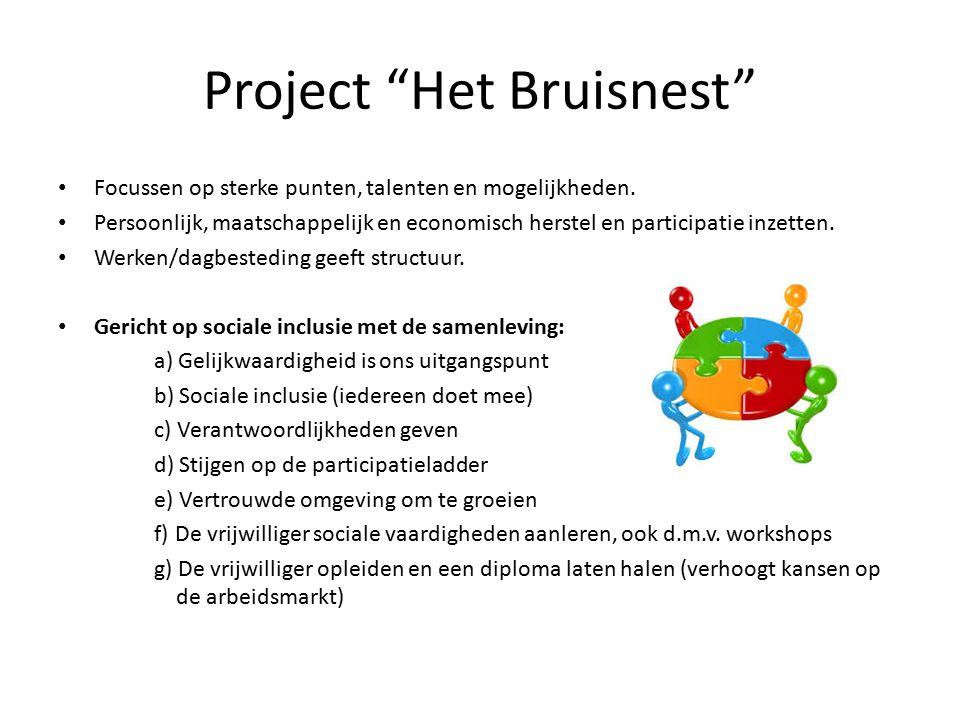 Project Het Bruisnest Focussen op sterke punten, talenten en mogelijkheden.