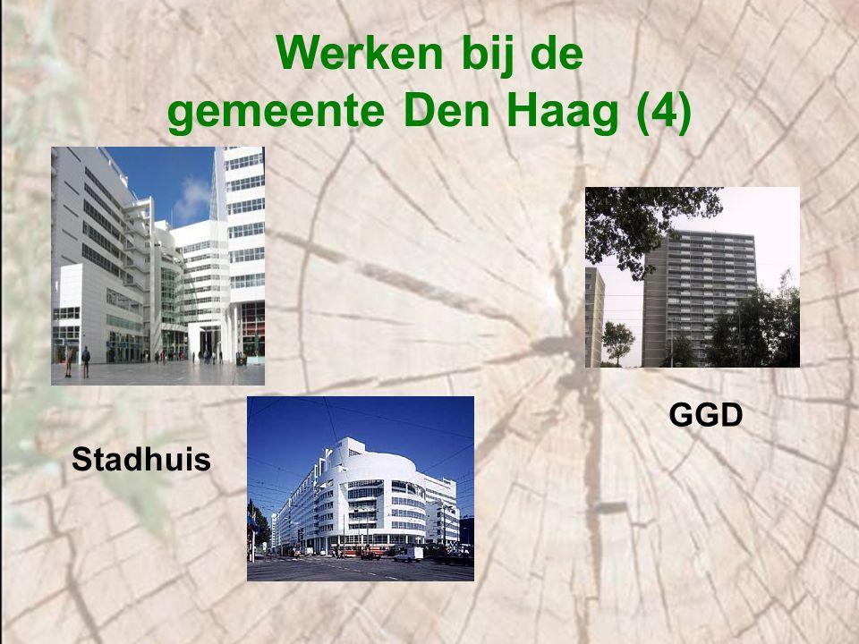 Werken bij de gemeente Den Haag (4) Stadhuis GGD