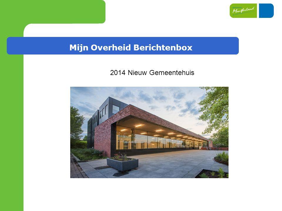2014 Nieuw Gemeentehuis
