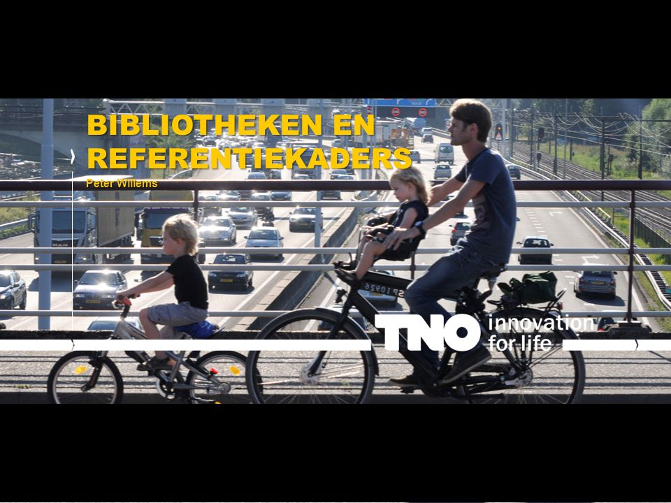 BIBLIOTHEKEN EN REFERENTIEKADERS Peter Willems