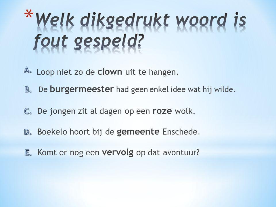 Komt er nog een vervolg op dat avontuur.Boekelo hoort bij de gemeente Enschede.